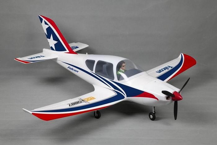 FMS 1220MM Falcon RC Plane w/ CNC Aluminum Metal Landing Gear PNP No Radio