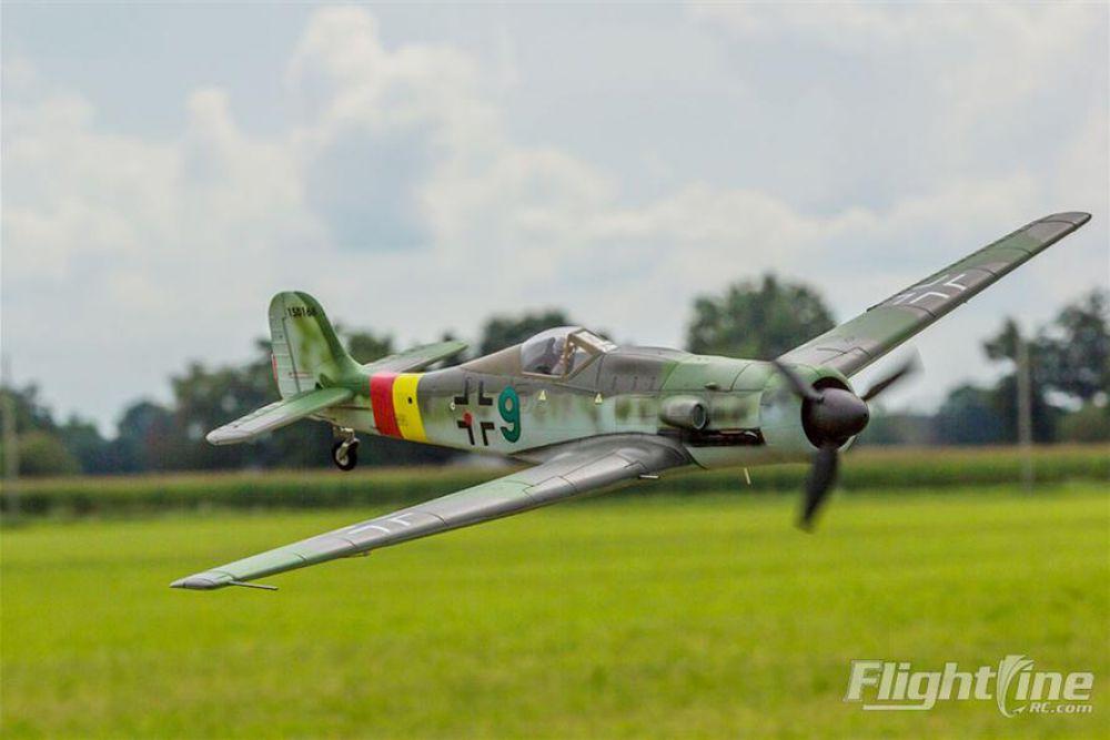 Freewing Flightline 1300mm Focke Wulf Ta 152 Warbird Rc