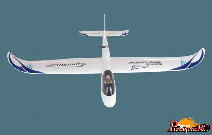 Powerzone 1500mm Sky Surfer Glider RC Plane KIT No Electronics