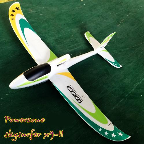Powerzone 1400mm Sky Surfer X9-II RC Plane PNP