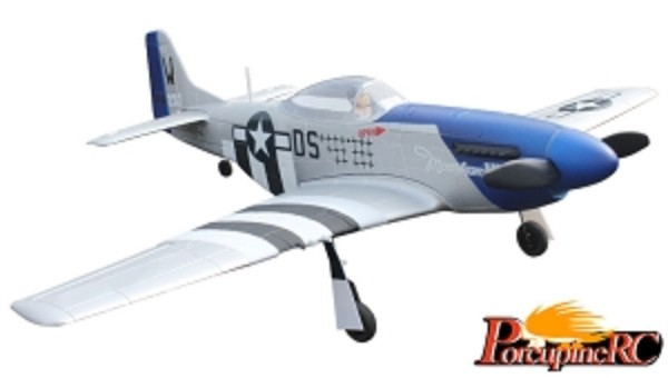 Dynam 762mm Mini P51D RC Plane PNP