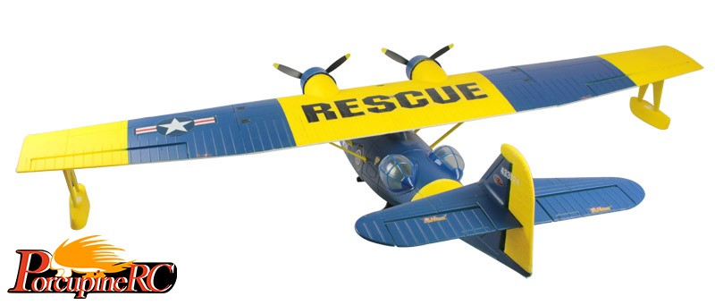 Dynam 1470mm PBY Catalina Sea Plane RC Plane PNP (Blue)