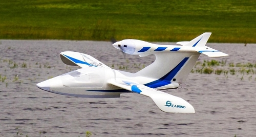 Dynam 1220mm Seawind RC SeaPlane PNP (Blue) No Radio