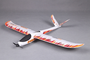 FMS 800mm V-Tail RC Glider PNP No Radio