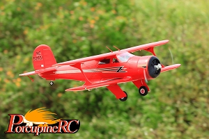 FMS 1030mm Beechcraft Staggerwing RC Plane PNP(Red) No Radio