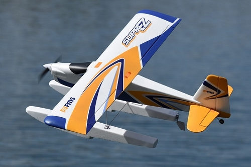 FMS 1200mm Super EZ V2 with Floats & Landing Gear RC Sea Plane PNP No Radio