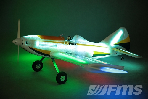 FMS 1090MM LED Firefly RC Plane(w/ RGB LED)