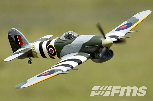 FMS 1100mm Typhoon Warbird RC Plane PNP No Radio