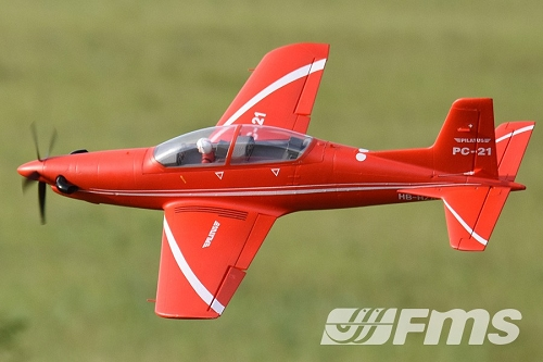 FMS 1100MM PC-21 RC Plane PNP No Radio