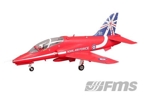 FMS Bae Hawk 80mm EDF Jet Plane PNP No Radio