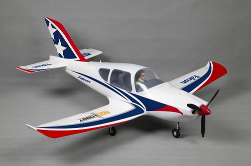 FMS 1220MM Falcon RC Plane w/ CNC Aluminum Metal Landing Gear PNP No Radio