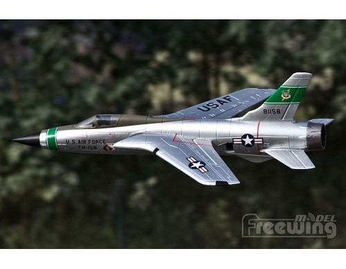 Freewing 530mm F-105 Thunderchief 64mm EDF Jet RC Plane KIT No Electronics
