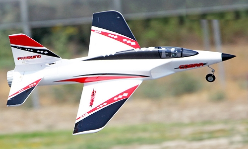 FreeWing 900mm Rebel V1 (Cobra) 70mm EDF Jet PNP No Radio(Upgraded Retractable Landing Gear)