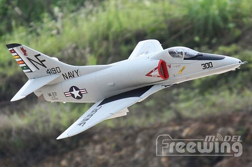 Freewing 80mm A-4E/F Skyhawk EDF Jet RC Plane PNP No Radio