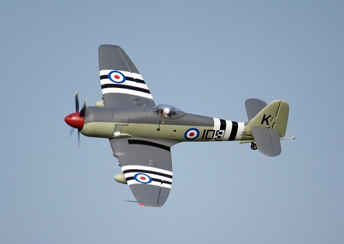 FreeWing 1200mm Hawker Sea Fury Warbird RC PNP No Radio