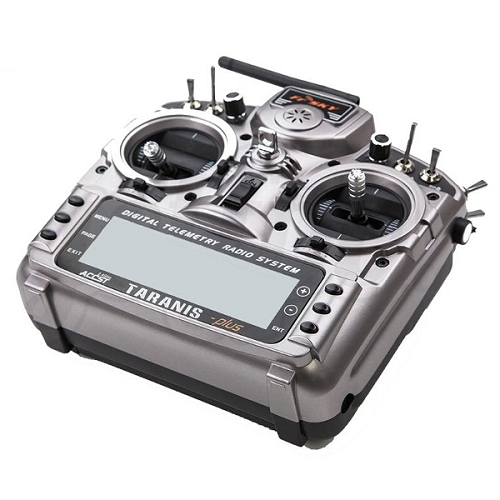 FrSky TARANIS X9D PLUS  2.4GHz ACCST Digital Telemetry Radio System With X8R Receiver No Battery
