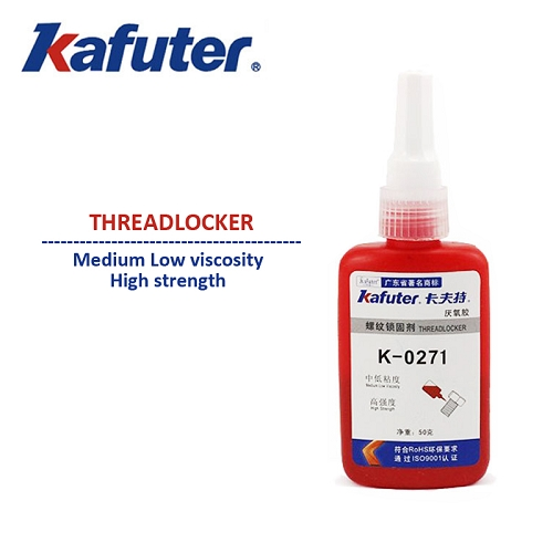 Kafuter K-0271 Anaerobic Adhesive Medium Viscosity High strength Threadlocker