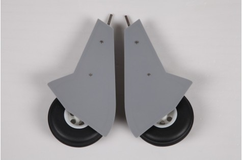 FMS 1100mm Typhoon PO107 Main Landing Gear Set