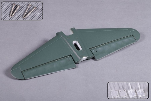 FMS 1400mm Zero MJ103-GRN Horizontal Stabilizer