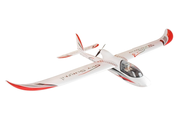 Powerzone 1500mm Sky Surfer RC Plane PNP (Red) No Radio