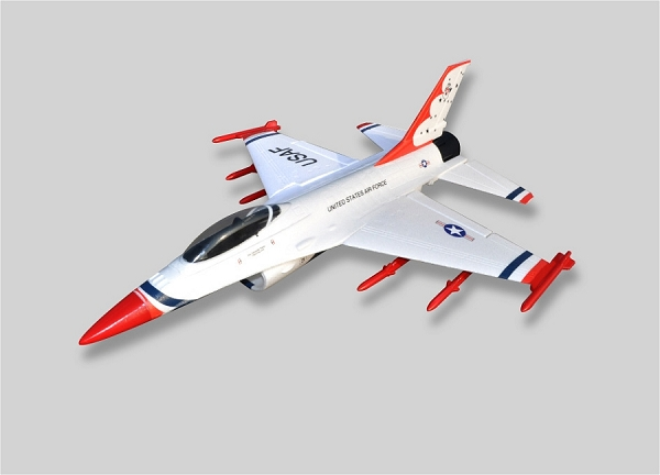 Sky Angel F-16 50mm EDF Jet PNP (Red) No Radio