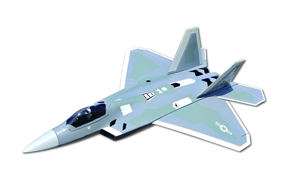 Sky Angel F-22 50mm EDF Jet PNP No Radio