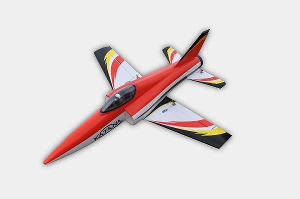 Sky Angel Katana 50mm EDF Jet PNP (Red) No Radio