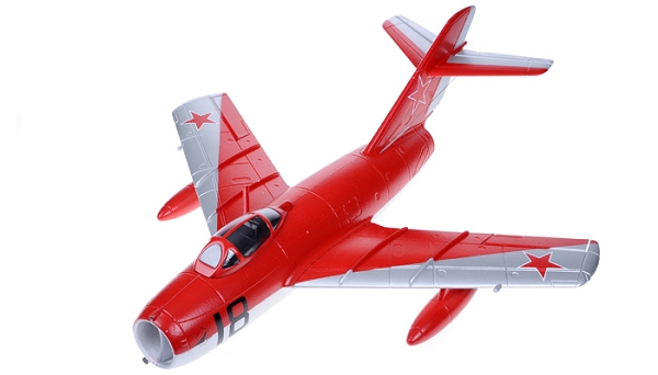 Sky Angel MIG-15 50mm EDF Jet PNP (Red) No Radio