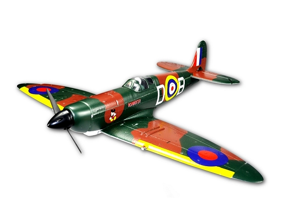 Sky Angel 665mm Spitfire Black version RC Plane PNP