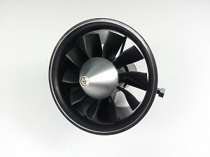 10-Blade 70mm RC Ducated Fan with 2827-2600KV Motor