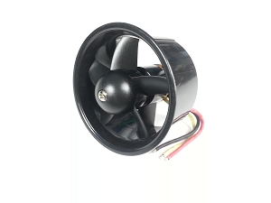 5-Blade 64mm RC Ducated Fan with 2611-4500KV Motor
