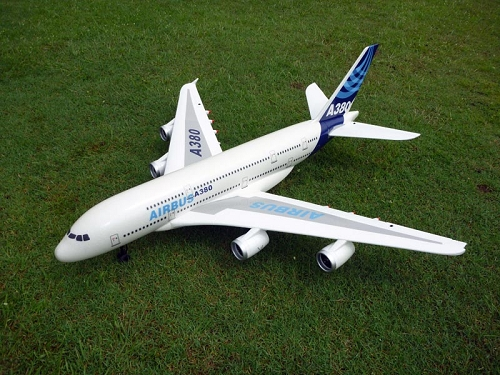 1520mm A380 Airbus Quad-EDF RC Plane KIT No Electronics