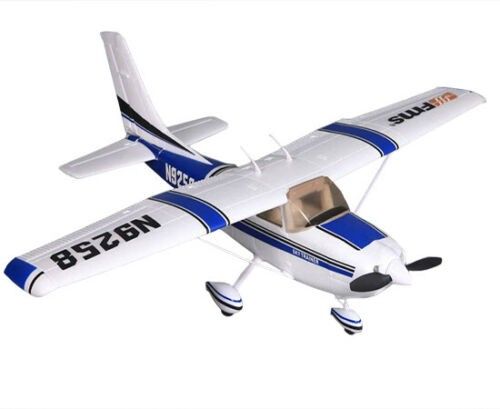 FMS 1100mm Cessna 182 Sky Trainer V2 RC Plane PNP (blue) No Radio