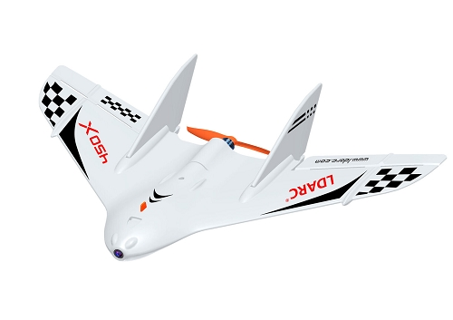 LDARC TINY WING 450X FPV Mini Flying-wing PNP with flight controller
