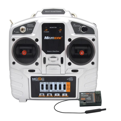 Microzone MC6C 6CH Digital Trim Radio System (Receiver Included) Switch version