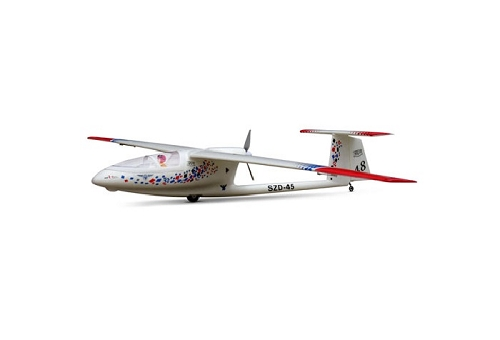 SZD-45 Ogar 2500mm RC Glider Plane KIT No Electronics