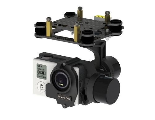 Volantex VG2D-H3 2 Axis Direction Brushless Gimbal (For Multicopter)