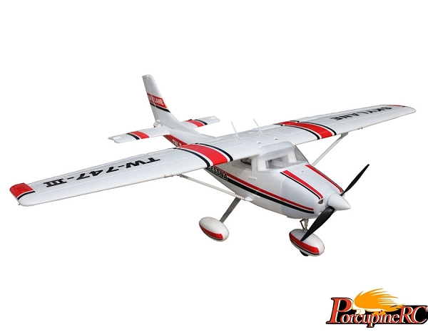 Volantex 1600mm Cessna 182 RC Trainer (Red)