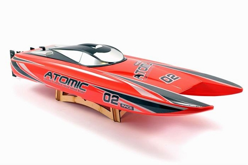 Volantex 700mm 792-4 Racent Atomic Catamaran Racing Boat RED (ARR)