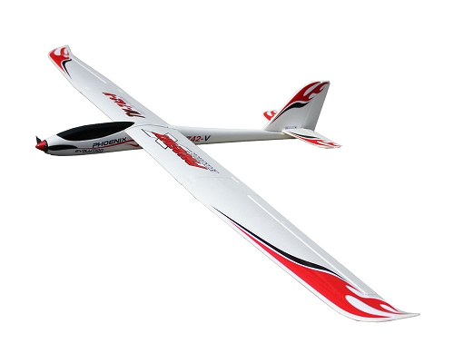 Volantex 2600mm Phoenix Evolution 2.6m-1.6m exchangeable 2in1 RC Glider PNP No Radio
