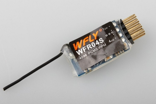 WFLY WFR04S 4CH 2.4GHz Mini Receiver