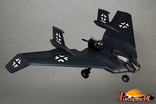 Zeta 1255mm Horten BV-38 RC Plane (Blue)