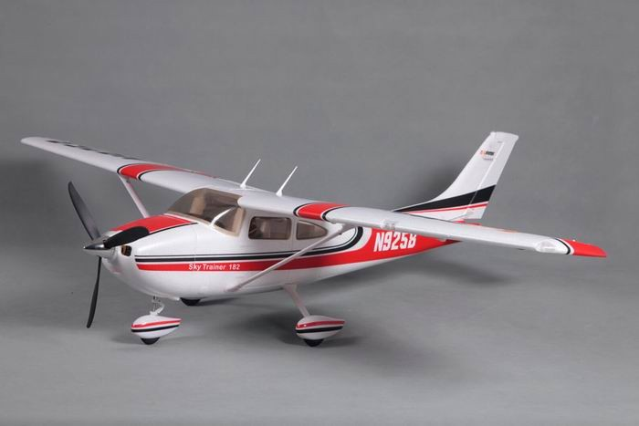 FMS 1400mm Sky Trainer 182 RC Plane PNP (AT Red) No Radio