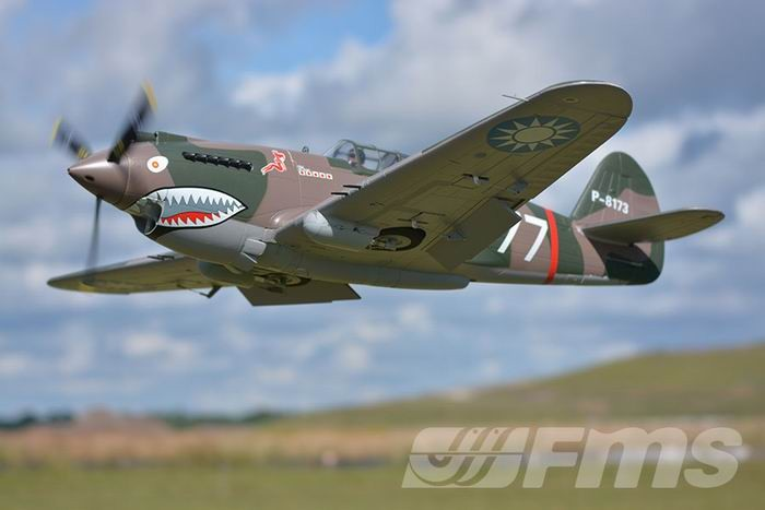 FMS 1400mm P-40B Flying Tiger RC Warbird PNP