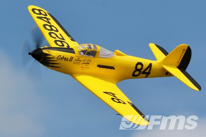 FMS 980mm P-39 Airacobra Racing RC Plane PNP No Radio