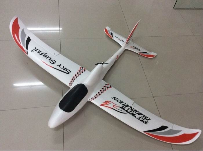 Powerzone 1400mm Sky Surfer X9-II RC Plane PNP(Red)
