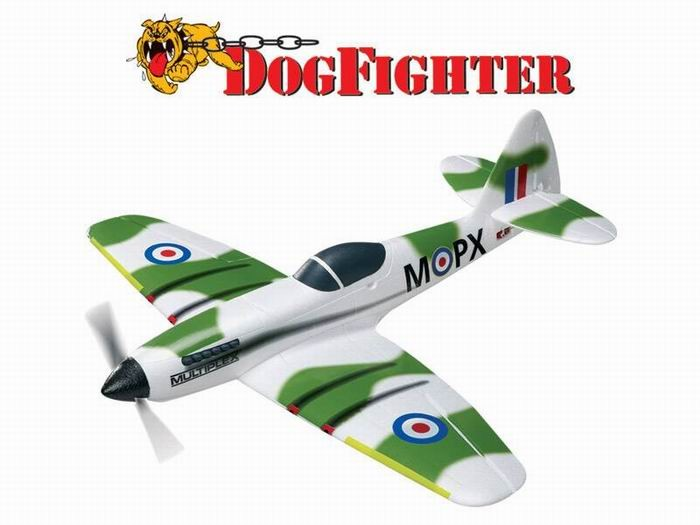 Multiplex 882mm DogFighter High Speed RC Racer Plane KIT No Electronics
