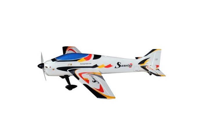 Sunrise 1000mm EP RC Plane KIT (Black) No Electronics