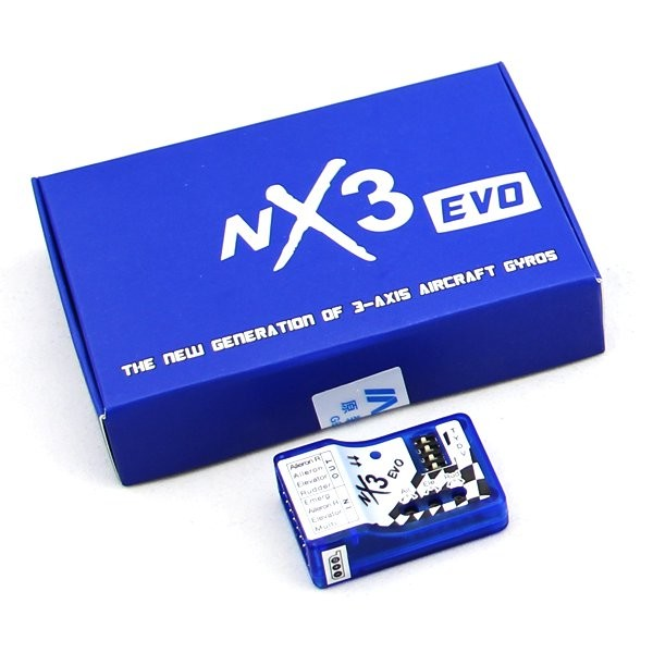NX3 EVO 3-Axis Aircraft Gyros Flight Controller for Fixed-Wing(DISCONTINUED)