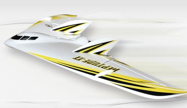 Techone 1000mm Neptune-II Flying Wing PNP (Yellow) No Radio
